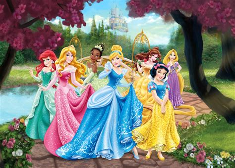 Fast Food Kitchen Design Xxl Poster Wall Mural Wallpaper Disney Princesses Princess