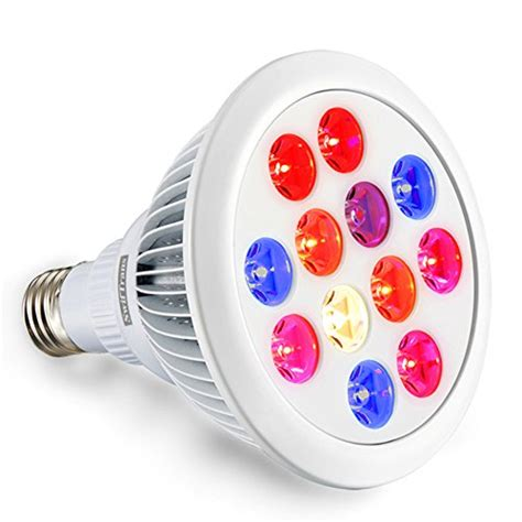 Led Grow Light Bulbs Review Best Deals Led Grow Light Bulb Swiftrans 24w Spectrum High Efficient Hydroponic Plant