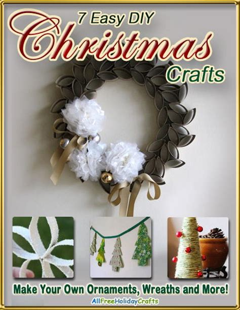 quot 7 easy diy christmas crafts make your own ornaments