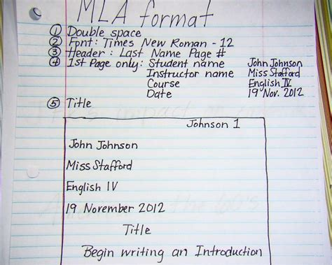 mla format papers step by step tips for writing research essays