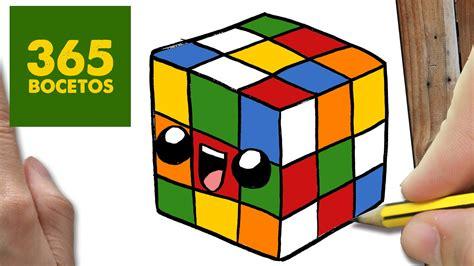 imagenes kawaii 365 bocetos como dibujar cubo de rubik kawaii paso a paso dibujos