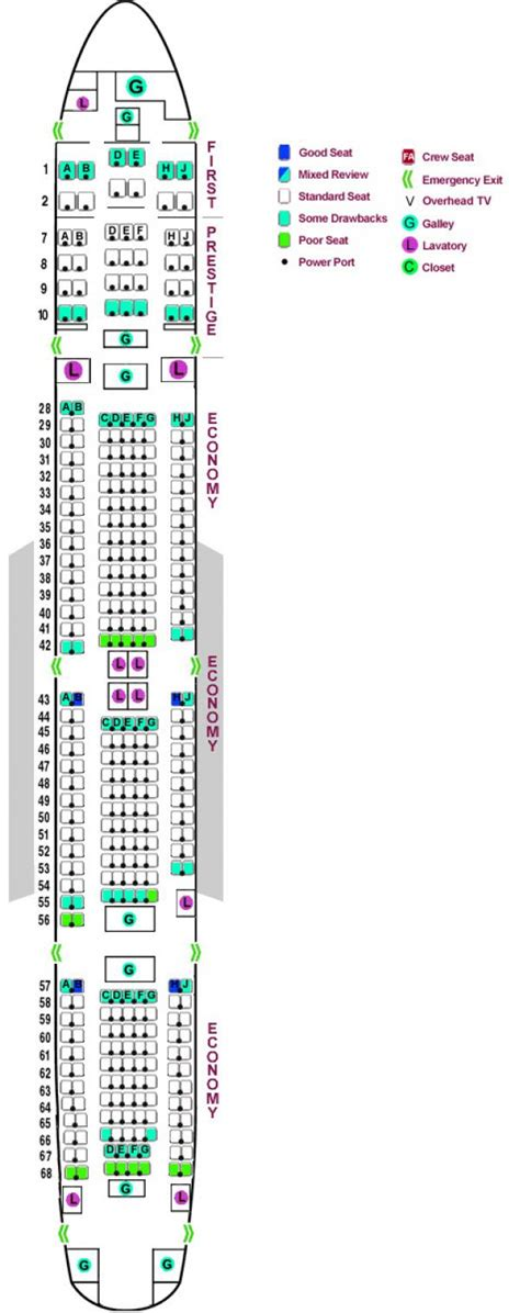 seating chart boeing 777 777 300er seating chart images