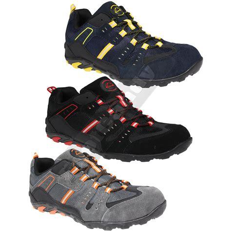 mens steel toe sneakers mens groundwork lightweight safety steel toe cap work