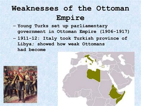 strengths and weaknesses of the ottoman empire ppt world war i powerpoint presentation id 1373507