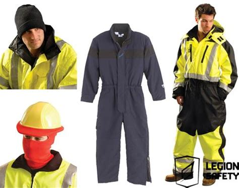 cold weather work clothing safety clothing legion safety