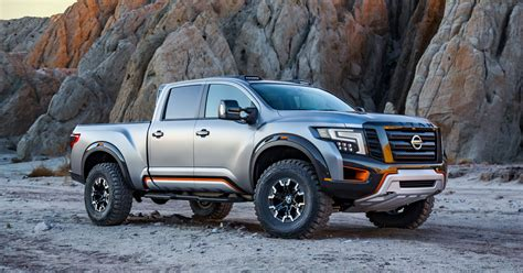 nissan pickup 2016 nissan titan warrior pickup goes bold at detroit auto show