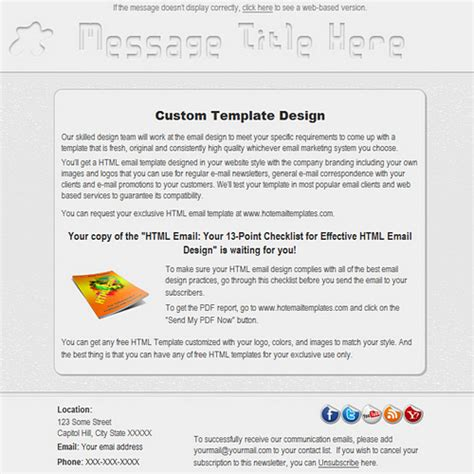 free html email template builder free premium html email templates