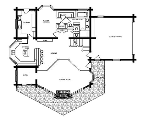 log cabin homes floor plans log home floor plan ponderosa