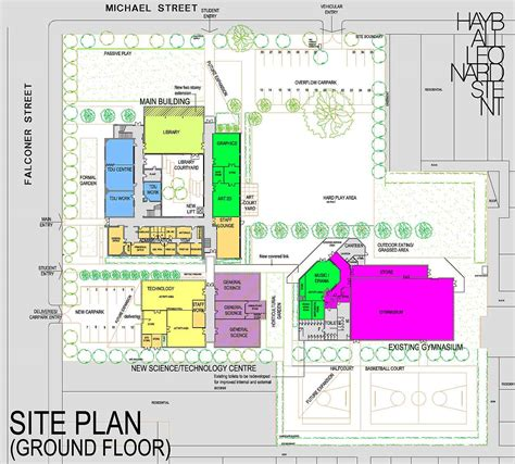 floor plan design website fitzroy high school masterplan