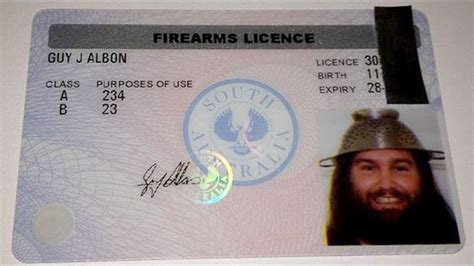 Can You Get A Gun License With A Criminal Record Pastafarian Advice Wearing A Colander On Your Is Amusing On A Driver S License