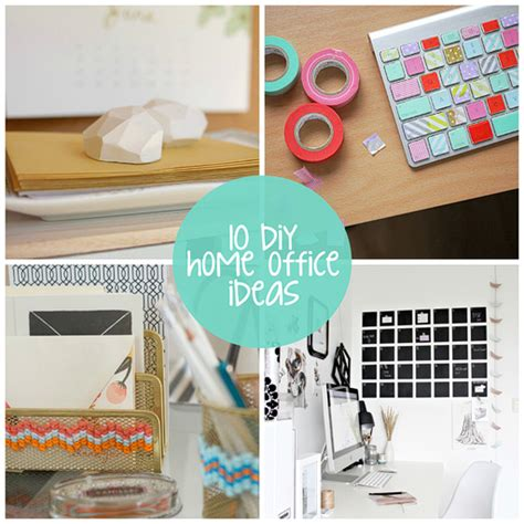 diy office decorating ideas diy home office ideas