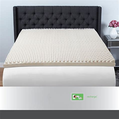 Convoluted Foam Mattress Pad by Beautyrest 3 Quot Convoluted Foam Mattress Topper