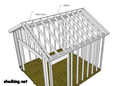 shed plans   build  shed gable roof   build