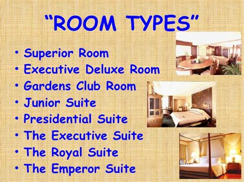 Room Types In A Hotel by For Hotel Business Part 2 Room Types