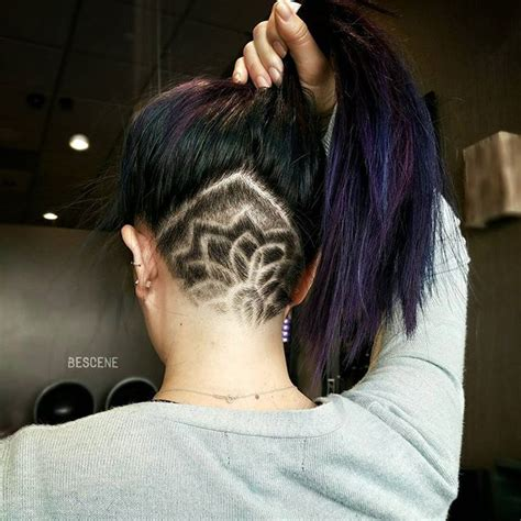 cute triangle undercut at nape 61 best images about hair on pinterest triangles