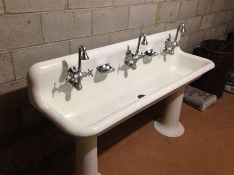 vintage trough sink bathroom vintage trough sink