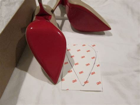 Christian Louboutin Sneaker Sole Guard by Clear Sole Sticker Guard And Protector For Christian Louboutin Bottoms Ebay