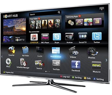 samsung 8000 series ue46d8000 46 quot led hd 1080p smart tv freeview hd ebay