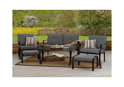 Patio Furniture Sets B M Strathwood 6 All Weather Furniture Set