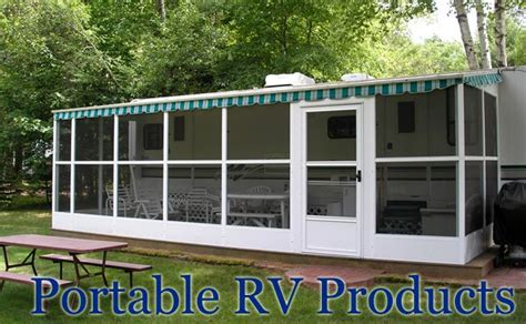 Portable Awnings For Decks by Dura Bilt Portable Rv Awnings Screen Rooms C