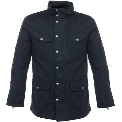 Jacket Navy by Hackett Hackett Velospeed Navy Jacket Hm401511 In Blue For