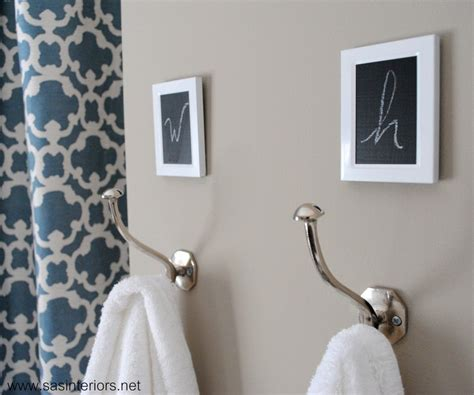 25 best ideas about towel hooks on bathroom