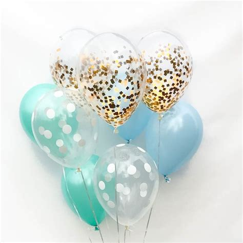 Baby Boy Balloons For Baby Shower by Best 25 Baby Shower Balloons Ideas On Baby