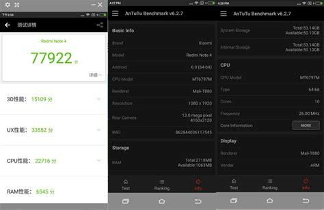 Fingerprint Xiaomi Redmi Note 4 1 xiaomi redmi note 4 fingerprint 5 5 inch 3gb ram 64gb mtk