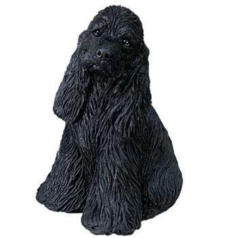 black cocker spaniel figurine sandicast midsize ms  animal world
