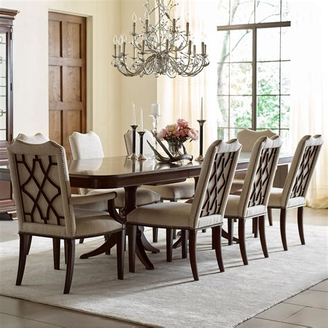 kincaid dining room set kincaid furniture hadleigh nine piece formal dining set