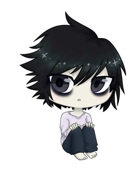 death note l by anime weaboo queen on deviantart