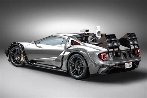 Back To The Future Ford by This Quot Back To The Future Quot Ford Gt Is Definitely Quicker