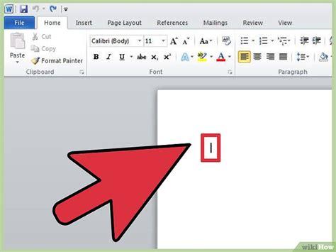 clipart per word 4 formas de agregar clip a microsoft word wikihow