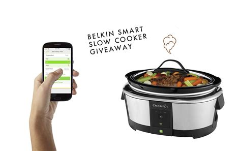 Crock Pot Cooker Giveaway And The Winners Are by Giveaway Belkin Smart Cooker Carley K
