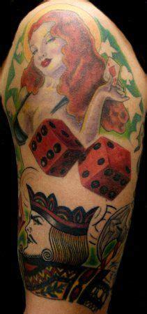 gambling tattoos