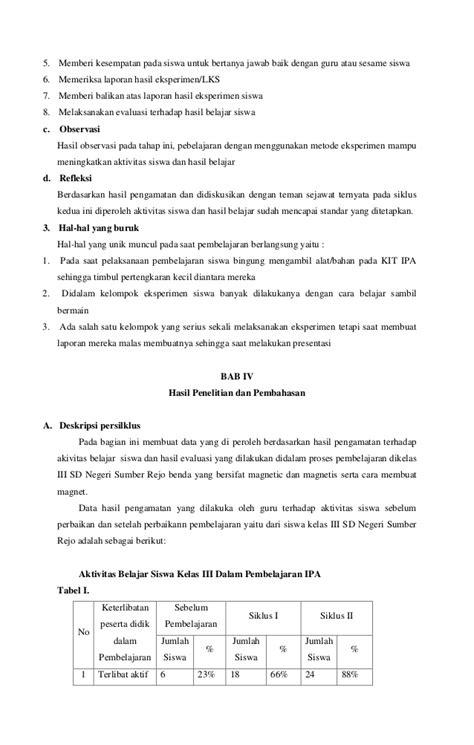 laporan praktikum ipa cara membuat magnet laporan pkp ipa