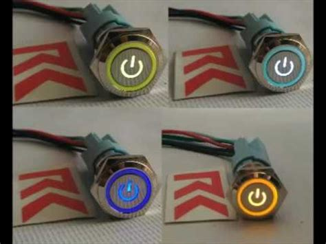 Saklar Onoff Lu switch on rainbow saklar rgb stainless