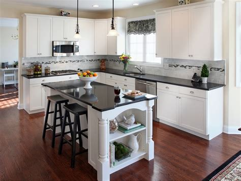 what are the best granite colors for white cabinets in