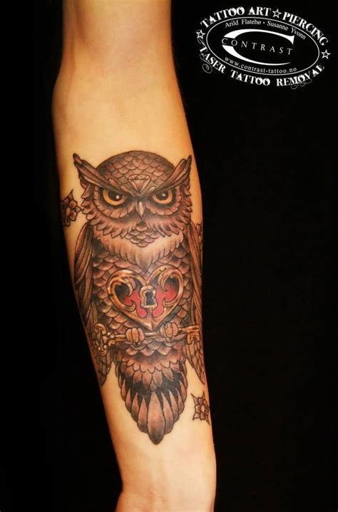 tattoo prices norway owl tattoo by arild flatebo norway tattoos pinterest
