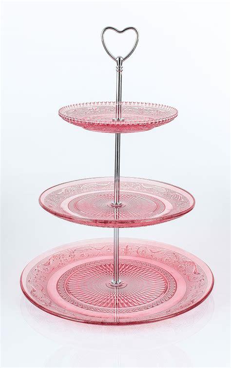 etagere rosa etagere kuchengestell geb 228 ckgestell rosa glas herzgriff