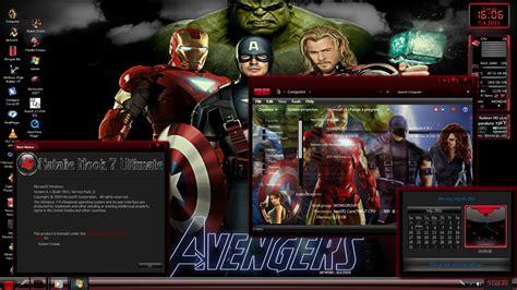 theme for windows 7 avengers avengers movie 2012 theme windows se7en
