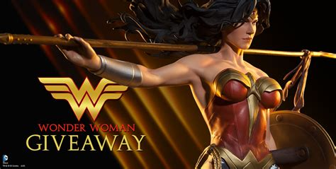 Wonder Woman Giveaway - facebook wonder woman contest sideshow collectibles