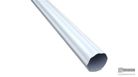 aluminum gutters corrugated aluminum gutter downspout 2 quot 3 quot 4 quot 5