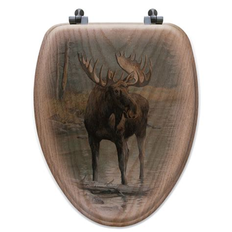 Water Toilet Seat Water Moose Toilet Seat Elongated