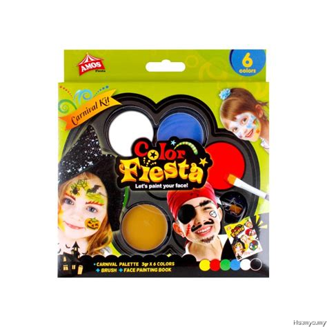 colors amos amos color paint kit carnival colours of 6