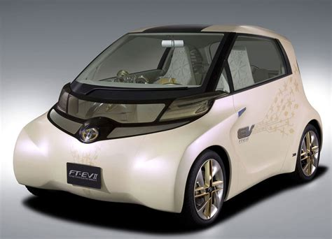 Toyota Electric Cars Toyota Ft Ev Ii Electric Vehicle Cars Reviews And Prices