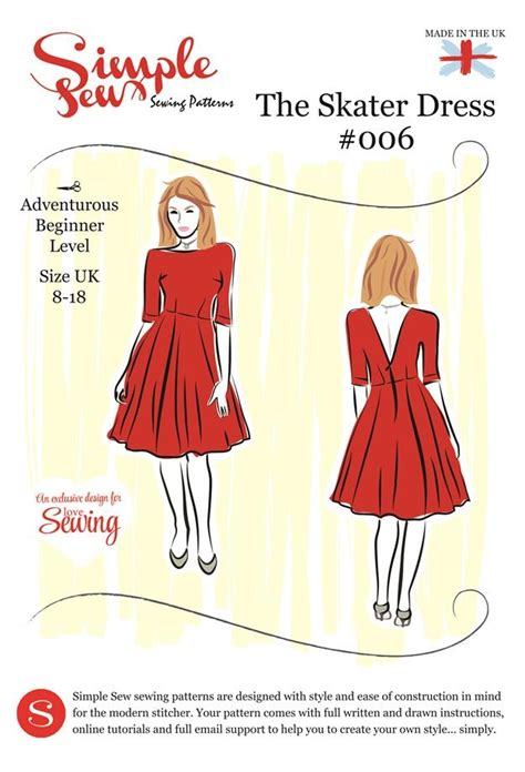 sewing pattern offers 187 skater dress sewing pattern