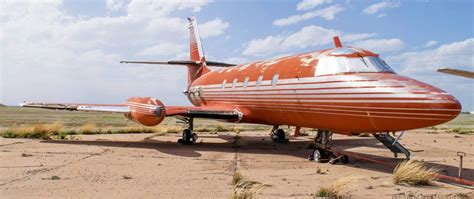 elvis jet runway find elvis s lost jet to be auctioned