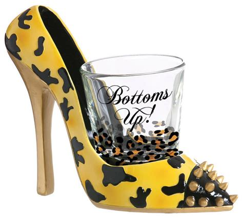high heels glasses bottoms up leopard print high heel and glass shoeter