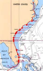 intercoastal waterway map